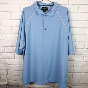 FootJoy FJ | men's gold polo collared shirt